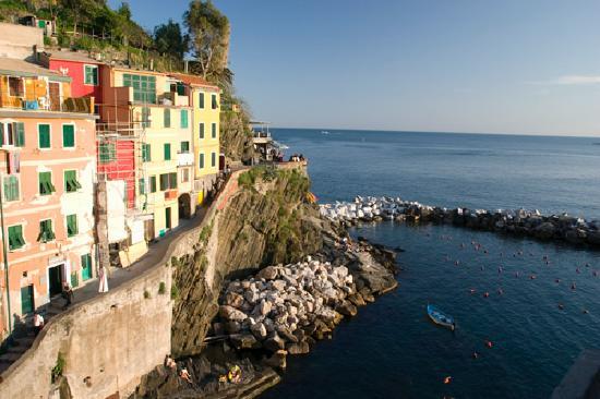 La Casa di Venere: View from the balcony