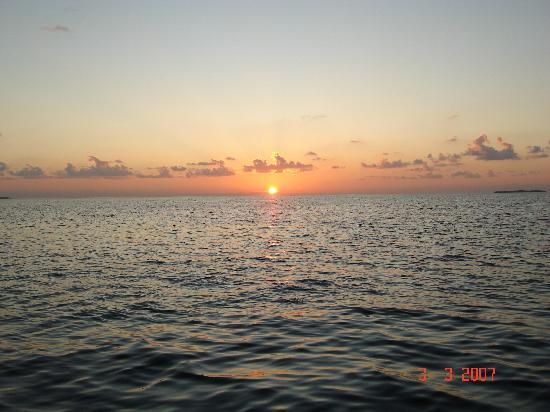 W Maldives: sunset