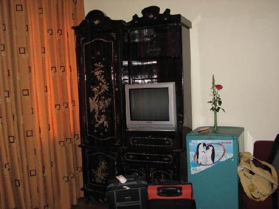 Sunshine Hotel 3 : TV & fridge