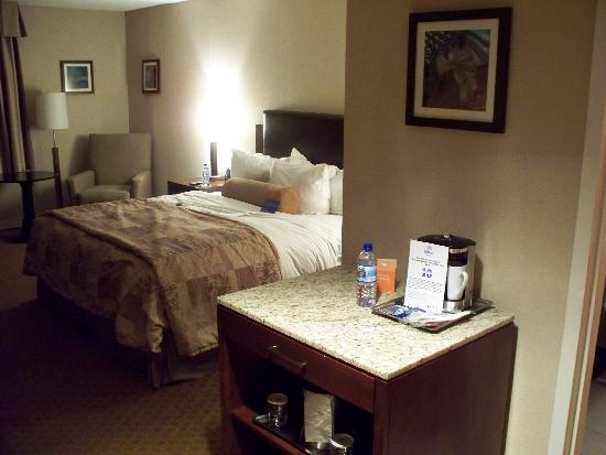 Radisson at The University of Toledo: Overview of a guest room
