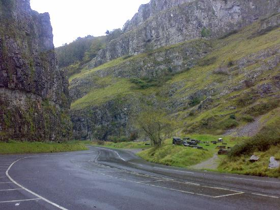 Apsley House Hotel: Nearby Cheddar Gorge