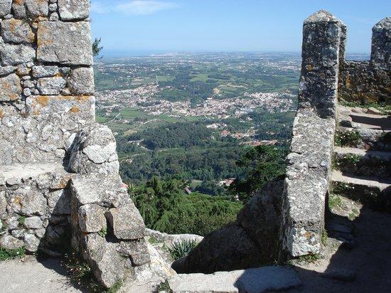 Sintra, Portugal: Moorish Castel