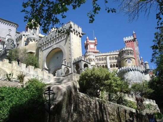 Sintra, Portugal: Pena National Palace
