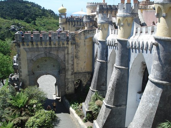 Sintra, Portugal : Pena National Palace