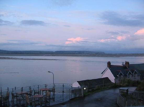 Aberdyfi (Aberdovey), UK: View from private balcony