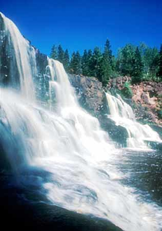 Part of gooseberry falls