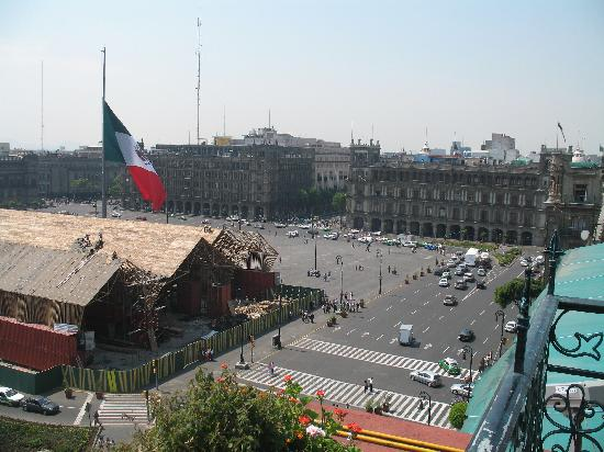 Zócalo Central: Second rooftop view
