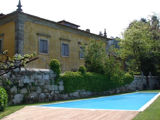 Paco de S. Cipriano: Beautiful pool with a great view
