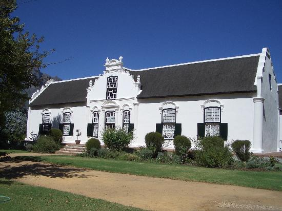 Boschendal winery manor house franschhoek picture of for Boschendal wine