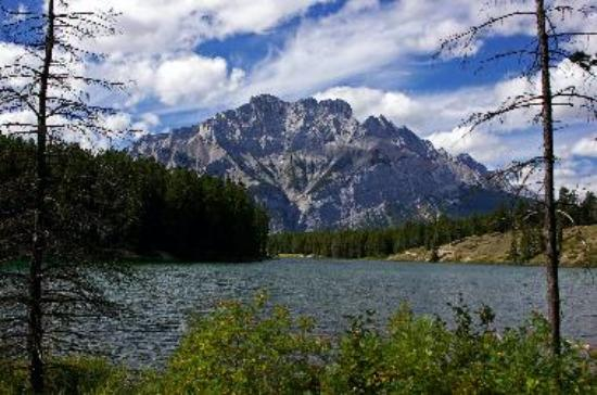 Lake Johnson and Cascade Mtn