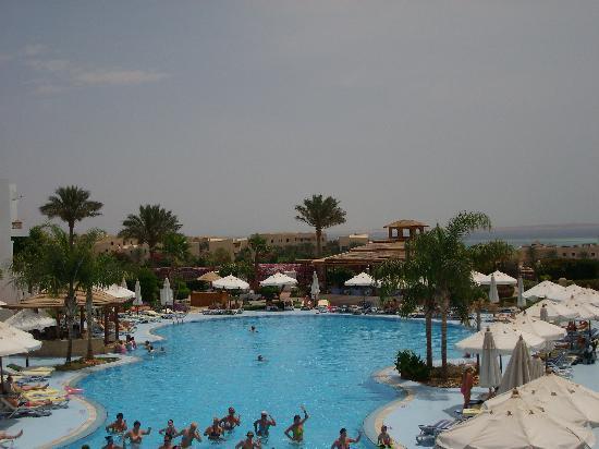 Aurora Sharm Resort: Blick vom Balkon