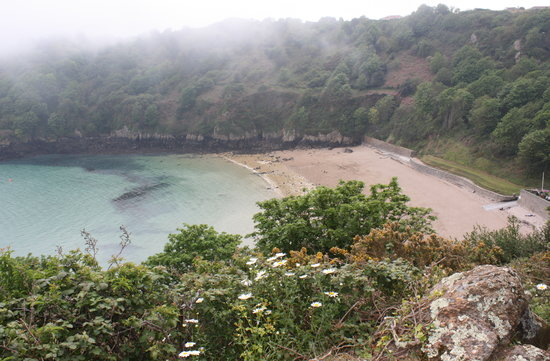 Guernesey, UK : Guernsey - Fermain Bay