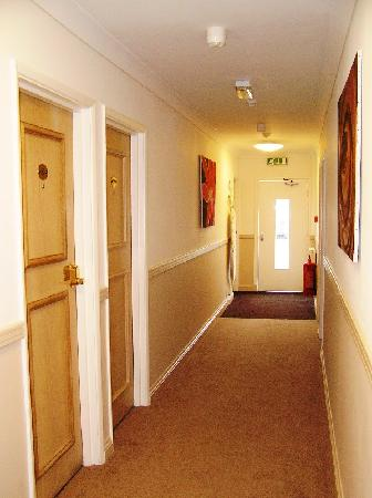 The Corridor Door To Outside At The End Picture Of