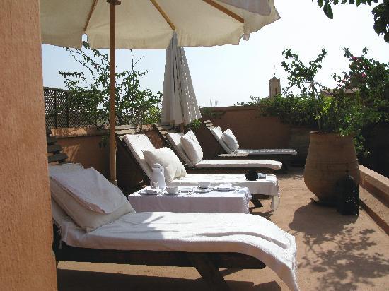 Riad Hayati: Sun blessed terrace