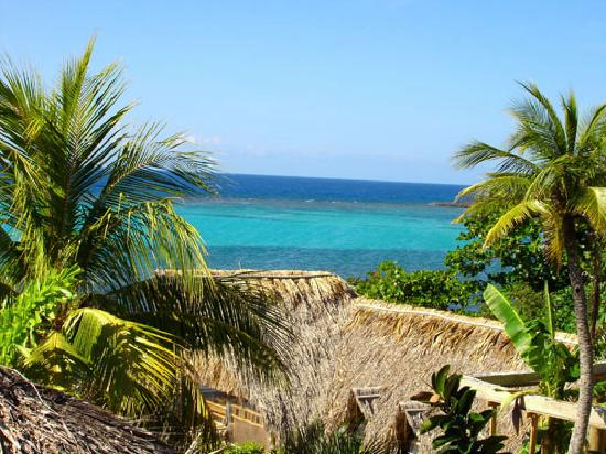 Tranquilseas Eco Lodge and Dive Center: view from our private porch
