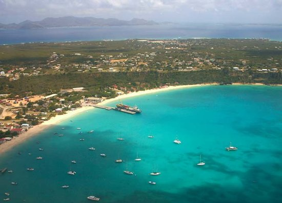 Anguilla: Sandy Ground from the Air