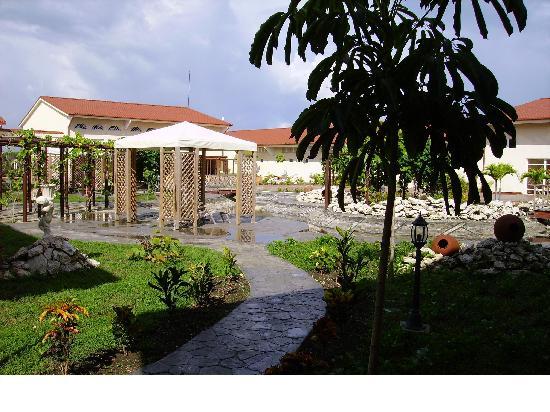 Acuavida Spa Talaso : jardin intérieur du centre