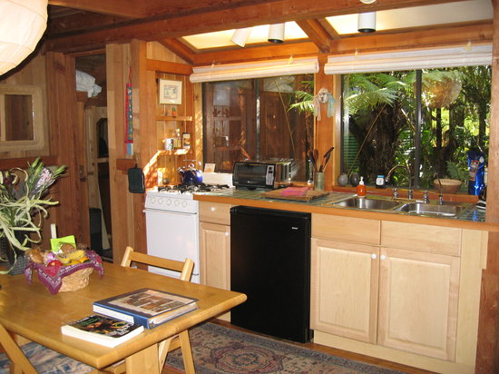 Volcano Rainforest Retreat: Kitchen