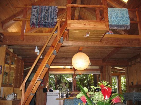 Volcano Rainforest Retreat: Loft