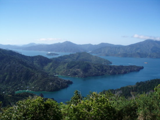 Picton, Neuseeland: Queen Charlotte Sound