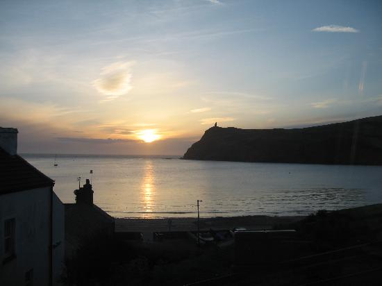 Port Erin, UK: Sunset from Restaurant