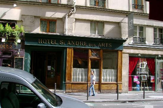 Hotel St Andre Des Arts From The Street Picture Of
