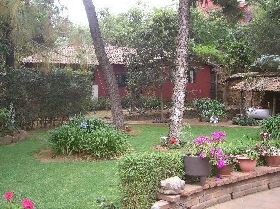 Casa Werma: The Casita and the gardens surrounding it.