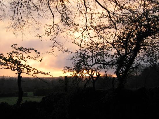 Cullintra House: Irish Sunset
