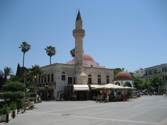 Kos Town, Greece: the center
