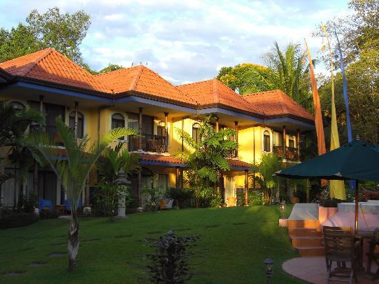 Hotel Cuna del Angel: Hotelanlage