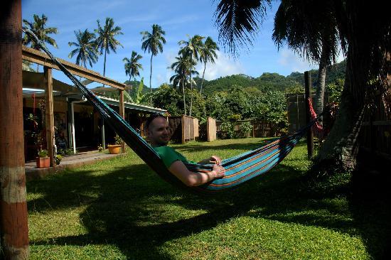 Aremango Guesthouse: the garden at Aremango