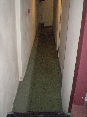 Hotel van Onna: corridoio