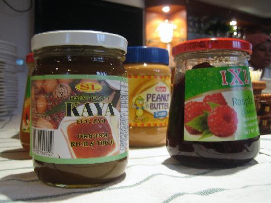 Perak Hotel: Kaya as part of breakfast offerings