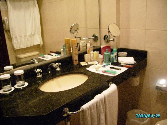 Crowne Plaza Asuncion Hotel : Este es el baño, pequeño pero muy lindo