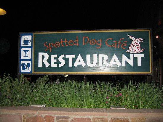 Spotted Dog Cafe: Spotted dog