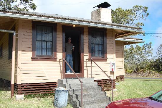 Kilauea Volcano Military Camp: Our Cabin