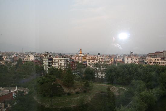 Hyatt Regency Kathmandu: View from the hotel room
