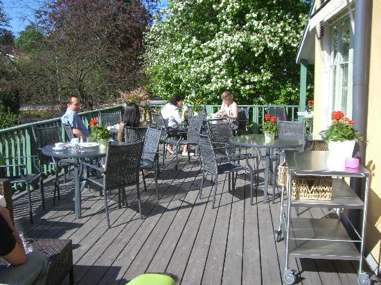 Maude's Hotel Enskede: terrace