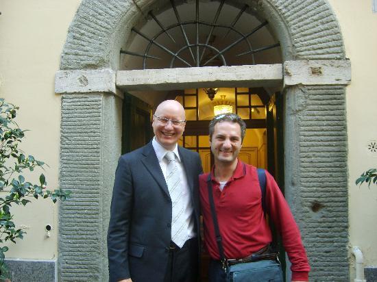 Hotel Bramante: Mauro e il mitico Antonio