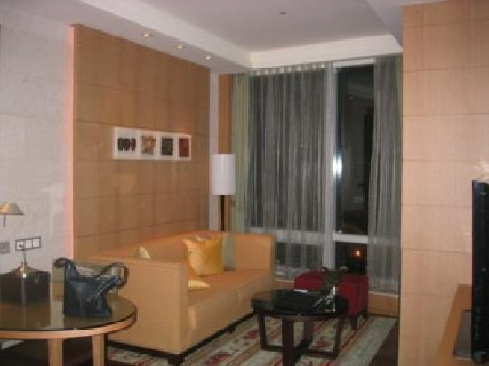 Yeouido Park Centre, Seoul - Marriott Executive Apartments : Living room in suite