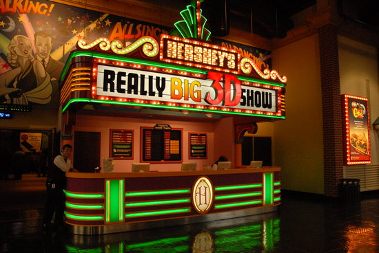Willow Street, Pensylwania: For an interesting experience, try the Hershey 3D Show