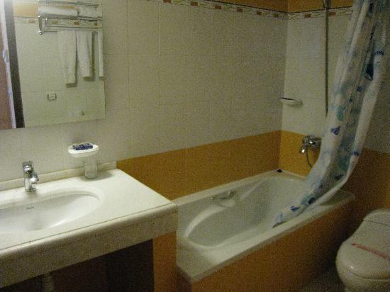 Aseman Hotel: The bathroom