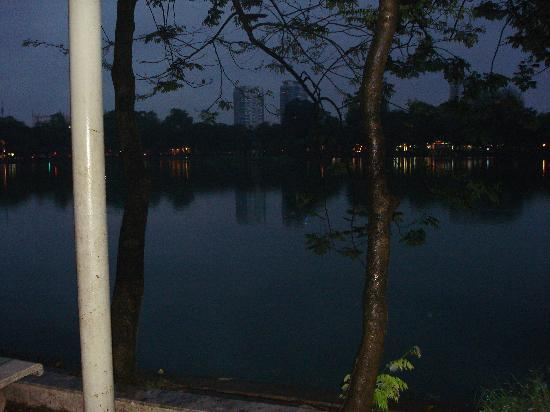 Golden Hotel Hanoi: Hanoi @ twilight