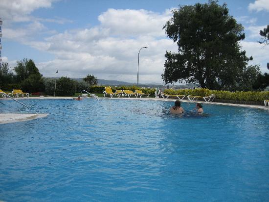 Hotel Eurostars Isla de La Toja: Outdoor Pool--Included with hotel fee but cold and windy in late June