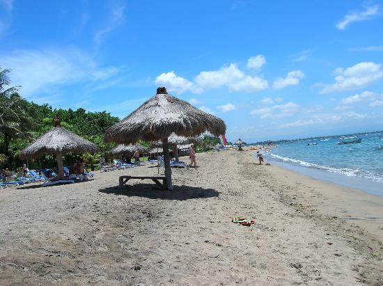 Club Bali Mirage: Playa