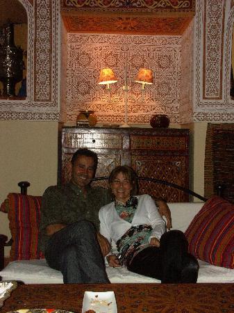 Riad Safir: Chantal e Philippe