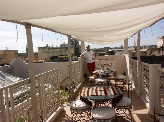 Riad Safir: terrazza riad