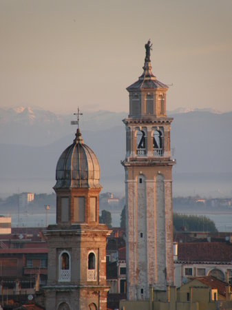 Mestre, Italië: Venice in the morning