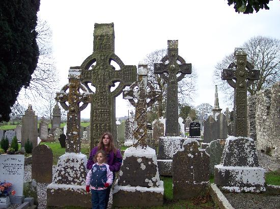 Monasterboice Monastic Site: it was a little cool