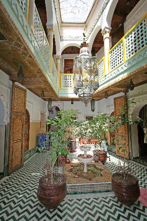 Riad et Dar Maison Do: Courtyard